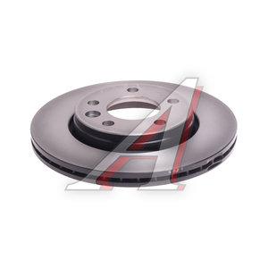 Диск тормозной VW Transporter (03-) задний (1шт.) TRW DF4312, 7H0615601B