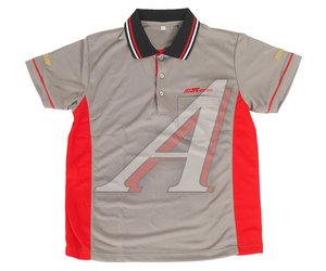Рубашка-поло мужская с коротким рукавом, размер L (100% полиэстер) JTC JTC-D01L