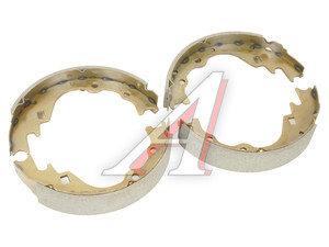 Колодки тормозные KIA K2500 (97-04) задние барабанные (4шт.) HSB HS1011, GS8523, 0K72A-2638Z