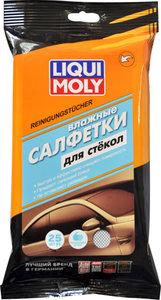 Салфетка влажная для стекол в мягкой упаковке 25шт. LIQUI MOLY LM 77168