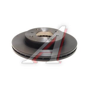 Диск тормозной NISSAN Almera (N16),Primera (P11,P10) передний (1шт.) TRW DF2591, 40206-93J01/40206-71E05/40206-93J00