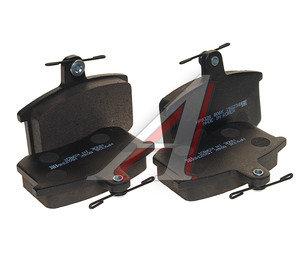 Колодки тормозные AUDI 100,A6,A8 задние (4шт.) HSB HP9326, GDB1163, 443698451B