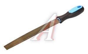 Напильник плоский 200мм №1 прорезиненная ручка BRIGADIER 62020