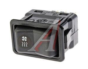 Выключатель клавиша ГАЗ-3110, ПАЗ, Валдай отопителя АВТОАРМАТУРА 82.3709-04.09