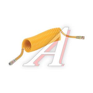 Шланг пневматический витой М22 L=6.5м (желтый) СТАНДАРТ AIR FLEX М22 L=6.5м (желтый) (PE) R, AIR FLEX М22 L=6.5м (желтый)