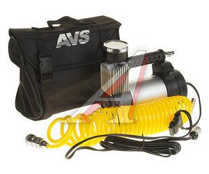 Компрессор автомобильный 45л/мин. 10атм. 14А 12V в прикуриватель (адаптер АКБ, сумка) Turbo AVS 80507, AVS KS450L