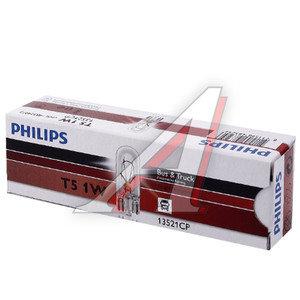 Лампа 24V W1.2W W2x4.6d бесцокольная PHILIPS 13521CP, P-13521