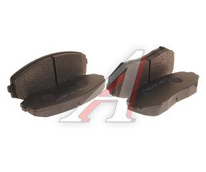 Колодки тормозные SUZUKI Grand Vitara (05-) передние (4шт.) HSB HP8447, GDB3443, 55200-65J11