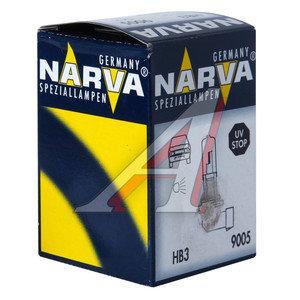 Лампа 12V HB3 60W P20d NARVA 48005, N-48005