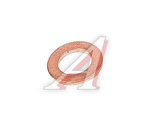 Шайба 6.0х10.0х1.0 медная (плоская) ЦИТ ШМ 6.0х10.0-1.0-П, Ц820