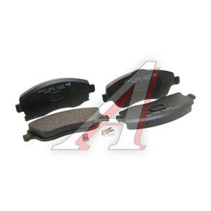 Колодки тормозные OPEL Corsa C (01-),Tigra B (04-) передние (4шт.) HSB HP8377, GDB1570, 1605974
