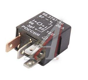 Реле электромагнитное ВАЗ-1118,ГАЗ-3111 12V 4-х контакта АВАР 98.3747-10