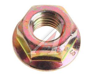Гайка М8х1.25х18 ВАЗ педали газа,воздушного фильтра с зубчатым буртиком 13832201/362392-29, 00001-0038322-01, 13832201