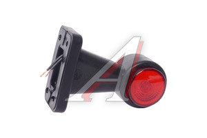 Фонарь габаритный и контурный белый/красный (хрусталик, светодиод) ЕВРОСВЕТ ГФ3.3LED1-20