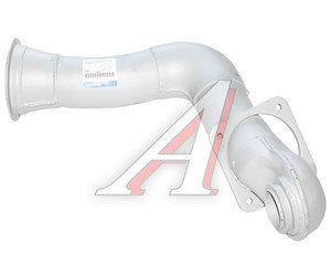 Труба приемная глушителя КАМАЗ-ЕВРО короткая (ОАО КАМАЗ) 43255-1203010-04