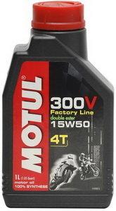 Масло моторное для 4-х тактных двигателей 300V 4T FL ROAD RACING синт.4л MOTUL MOTUL SAE15W50