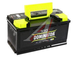 Аккумулятор DOMINATOR 100А/ч 6СТ100з, 83046