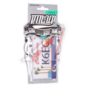 Ароматизатор подвесной пластина (жасмин+чай зеленый) Калифорния Pin Up PHANTOM PH3260 \Pin Up