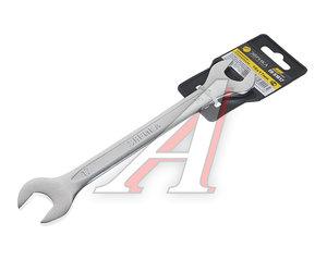 Ключ рожковый 16х17мм CrV Pro ЭВРИКА ER-51617