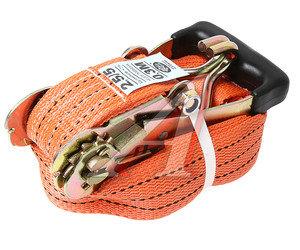 Стяжка крепления груза 5т 10м-50мм (полипропилен) с храповиком ТОП АВТО РК45010