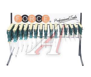 Набор отверток TORX Т5H-Т45H силовых 75 предметов FORCE F-2753T