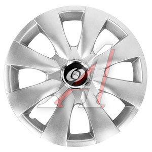Колпак колеса R-15 серый комплект 4шт. 316 R-15, 316