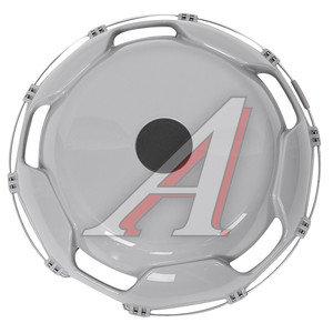 Колпак колеса R-22.5 передний пластик (серый) ТТ-ПЛ-Т13, АТ-59207