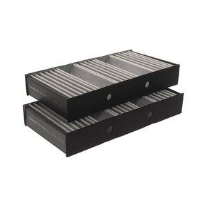 Фильтр воздушный салона MERCEDES ML (W166),GL (X166) угольный (2шт.) MAHLE LAK878/S, A1668300318