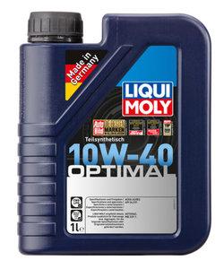 Масло моторное OPTIMAL п/синт.1л LIQUI MOLY LM SAE10W40 3929, 84161