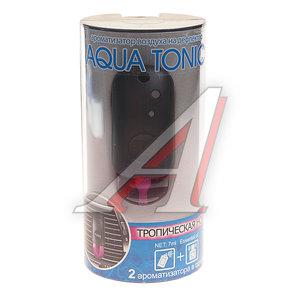 Ароматизатор на дефлектор жидкостный (тропическая ночь) 7мл Aqua tonic FKVJP ATV-18