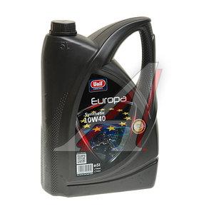 Масло моторное EUROPA 10W40 п/синт. 5л UNIL UNIL SAE 10W40