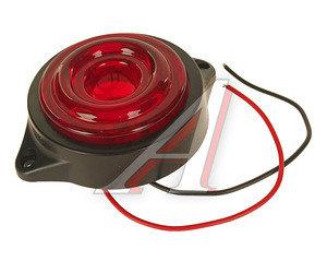 Фонарь габаритный LED 24V, круглый красный (d=55мм 10-светодиодов,солнышко) АВТОТОРГ НК-0047/LED к