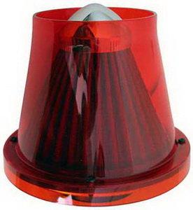 Фильтр воздушный PRO SPORT TWISTER прозрачный красный d=70 RS-00764
