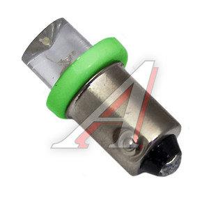 Лампа 12VхT4W (BA9s) CONE GREEN 1 свет-од MEGA ELECTRIC ME-0411G, А12-4-1