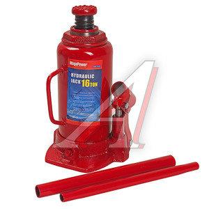 Домкрат бутылочный 16т 230-460мм MEGAPOWER M-91603