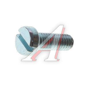 Винт М6х1.0х16 с полуцилиндрической головкой под шлиц DIN84