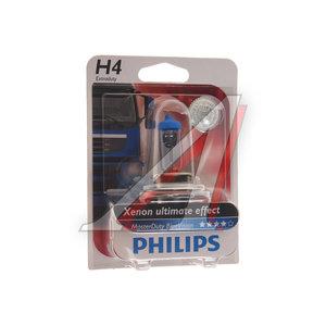Лампа 24V H4 75/70W P43t-38 блистер (1шт.) Master Duty Blue Vision PHILIPS 13342MDBVB1, P-13342MDBVбл, АКГ 24-75-70 (Н4)