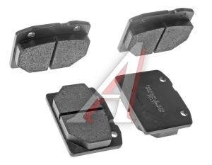 Колодки тормозные ВАЗ-2101 передние (4шт.) FINWHALE V211, 2101-3501090, 2101-3501089