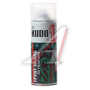 Грунт по ржавчине белый RAL 9003 аэрозоль 520мл KUDO KUDO KU-319003, KU-319003