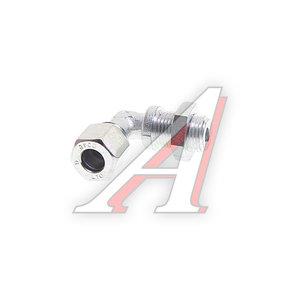 Штуцер соединительный угловой M16х10мм (фитинг резьбовой) сталь HALDEX 032048209, 0518304710