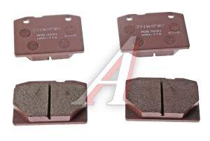Колодки тормозные ВАЗ-2101 передние (4шт.) ALLIED NIPPON ADB0281, 2101-3501089