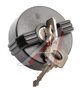 Крышка бака топливного ВАЗ-2101-07 с ключом ДААЗ 94.00.00, 00000094000000, 2101-1103010