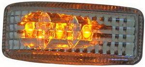 Повторитель поворота ВАЗ-2108 светодиодный,хром комплект PRO SPORT RS-02301, 2108-3726010-01