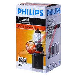 Лампа 12V HB1 65/45W P29t PHILIPS 9004C1, P-9004
