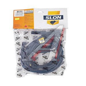 Провод высоковольтный ГАЗ-53,ЗИЛ-130 комплект силикон SLON 130.3707080, 130-3707060
