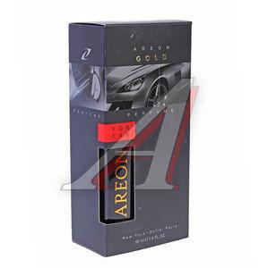 Ароматизатор спрей (золотой) Perfume премиум AREON AP02, 704-AP2