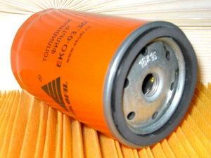Фильтр топливный КАМАЗ,ПАЗ тонкой очистки (дв.CUMMINS EQB 140-20,180-20,210-20) ЭКОФИЛ FF 5052 EKO-03.30, EKO-03.30