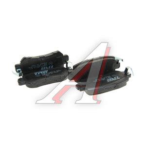 Колодки тормозные MAZDA CX-5 (11-) задние (4шт.) TRW GDB3539, K0Y1-26-48ZA