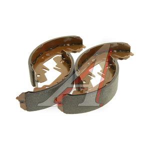 Колодки тормозные KIA Carnival (05-) задние барабанные (4шт.) HSB HS1012, GS8643, 0K552-2638Z
