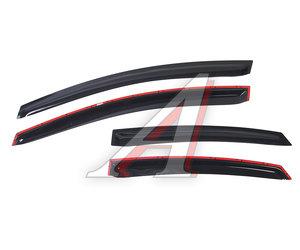 Дефлектор двери FORD Mondeo седан (07-) F2014